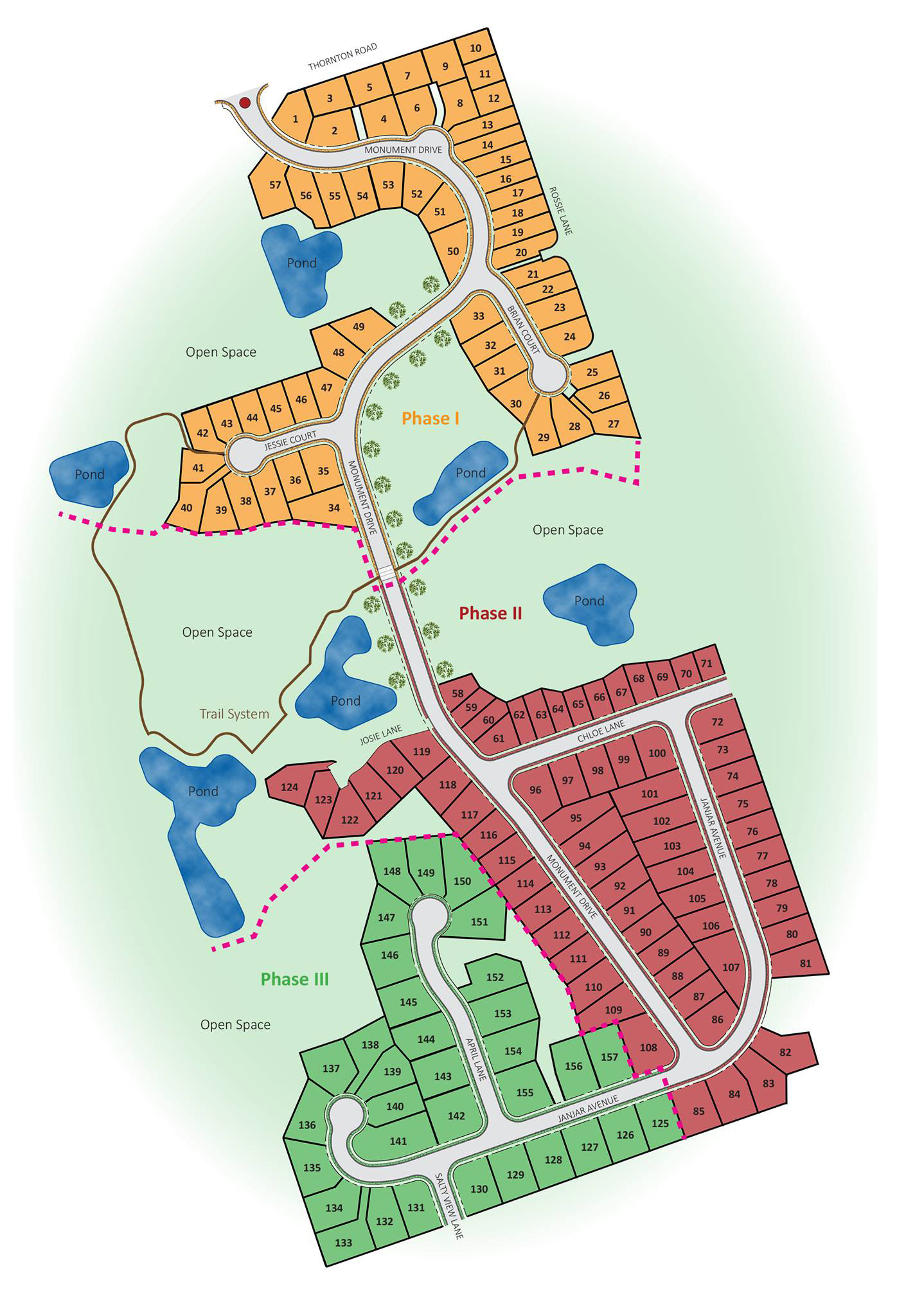 Meadows-Ferndale Homeowners Association Siteplan